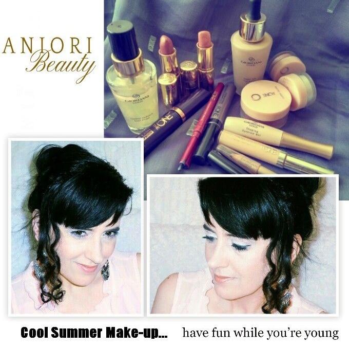 Oriflame nyári smink tipp – Giordani Gold és The One smink termékekkel